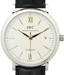 IWC Portofino Stainless Steel White Automatic IW356517