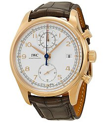 IWC Portuguese Chronograph Classic Automatic Rose Gold Men's Watch
