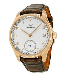 IWC Portuguese Manual Wind Eight Days Rose Gold Men's Watch