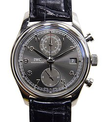 IWC Portuguese Stainless Steel Dark Grey Automatic IW390404