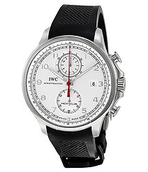 IWC Portuguese Yacht Club Automatic Chronograph Stainless Steel Men's Watch IW3902-06