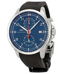 IWC Portuguese Yacht Club Chronograph Automatic Stainless Steel Men's Watch