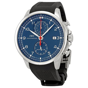 Купить часы IWC Portuguese Yacht Club Chronograph Automatic Stainless Steel Men's Watch  в ломбарде швейцарских часов