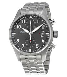 IWC Spitfire Chronograph Ardoise Dial Men's Watch