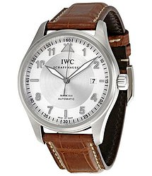 IWC Spitfire Pilot Mark XVI Steel Brown Men's Watch