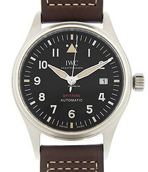 IWC Spitfire Stainless Steel Black Automatic IW326803