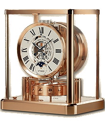 Jaeger LeCoultre Atmos  Classique Phases de Lune Rose Gold-Plated