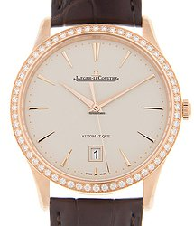 Jaeger-LeCoultre Master Ultra Thin 18kt Rose Gold & Diamonds Belge Automatic Q1232501