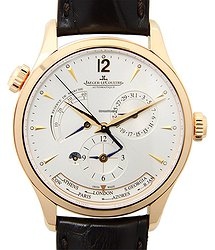 Jaeger-LeCoultre Master Ultra Thin 18kt Rose Gold Silver Automatic Q1422521