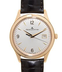 Jaeger-LeCoultre Master Ultra Thin 18kt Rose Gold Silver Automatic Q1542520