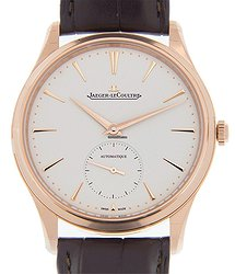 Jaeger-LeCoultre Master Ultra Thin 18kt Rose Gold White Automatic Q1272510