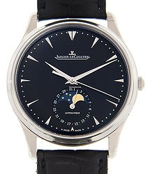 Jaeger-LeCoultre Master Ultra Thin Stainless Steel Black Automatic Q1368470