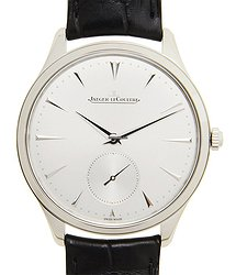 Jaeger-LeCoultre Master Ultra Thin Stainless Steel Silver Automatic Q1278420