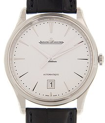 Jaeger-LeCoultre Master Ultra Thin Stainless Steel Silvery White Automatic Q1238420