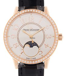 Jaeger-LeCoultre Rendez Vous 18kt Rose Gold & Diamonds Silvery & White Automatic Q3572430