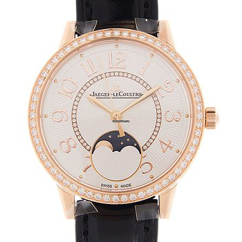 Купить часы Jaeger-LeCoultre Rendez Vous 18kt Rose Gold & Diamonds Silvery & White Automatic Q3572430  в ломбарде швейцарских часов