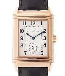 Jaeger-LeCoultre Reverso 18kt Rose Gold Silvery & White Automatic Q2702521