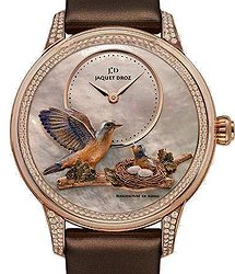 Jaquet Droz Les Ateliers d`Art  Sculpted and Engraved Ornamentation Limited Edition