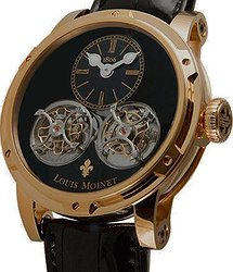 Louis Moinet Sideralis Inverted Double Tourbillon Black Onyx