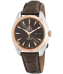 Omega Aqua Terra Annual Calendar Automatic Chronometer Men's Watch