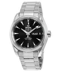 Omega Aqua Terra Black Dial Men's Watch