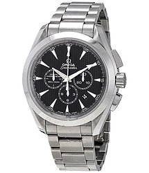 Omega Aqua Terra Chronograph Black Dial Automatic Men's Watch