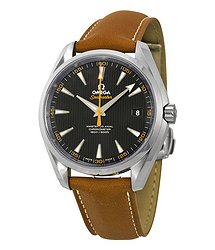 Omega Aqua Terra Master Automatic Black Dial Men's Watch