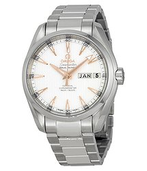 Omega Aqua Terra Teck Automatic Silver Stainless Steel Men's Watch 23110392202001