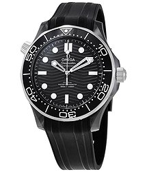 Omega Automatic Chronometer Black Dial Watch