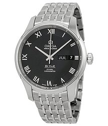 Omega Black Dial Stainless Steel Automatic Men's Watch 43110412201001
