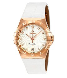 Omega Constellation 18kt Rose Gold Ladies Watch
