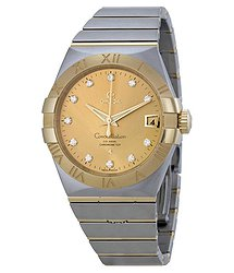 Omega Constellation Automatic Champagne Dial Men's Watch 12320382158001