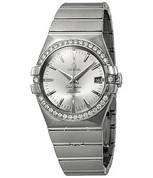 Omega Constellation Automatic Chronometer Diamond Ladies Watch