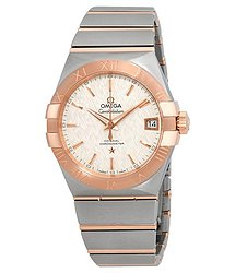 Omega Constellation Automatic Silver Dial Men's Watch