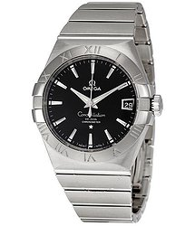Omega Constellation Black Dial Automatic Men's Watch 12310382101001