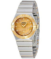 Omega Constellation Champagne Dial Ladies Watch