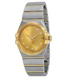 Omega Constellation Champagne Dial Unisex Watch