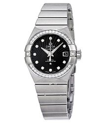 Omega Constellation Chronometer Automatic Diamond Ladies Watch