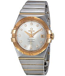 Omega Constellation Chronometer Silver Dial Watch