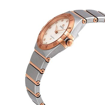 Купить часы Omega Constellation Manhattan Diamond Dial Ladies Steel and 18k Sedna Gold Watch  в ломбарде швейцарских часов