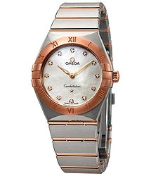 Omega Constellation Manhattan Mother of Pearl Dial Ladies Watch