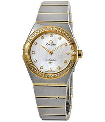 Omega Constellation Manhattan Quartz Diamond Ladies Watch
