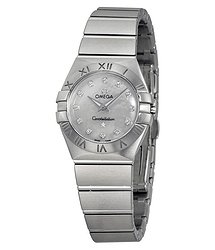 Omega Constellation Mother of Pearl Dial 24 mm Ladies Watch