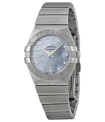 Omega Constellation Mother of Pearl Dial Ladies Watch