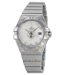 Omega Constellation Mother of Pearl Dial Stainless Steel Ladies Watch 12310312055001