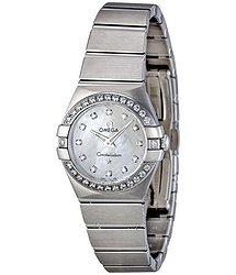 Omega Constellation Mother of Pearl Dial Steel Ladies Watch