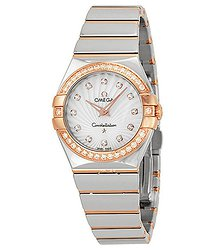 Omega Constellation Quartz Diamond Ladies Watch