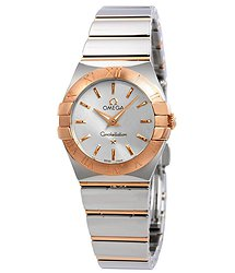 Omega Constellation Silver Dial Ladies Watch