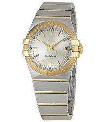 Omega Constellation Silver Dial Men's Watch