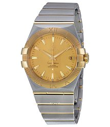 Omega Constellation Two Tone Men's Watch